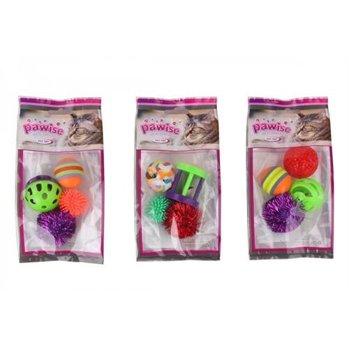 Kedi Karışık Oyuncak 4Lü Paket