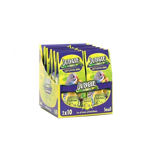 Jungle Kuş Kemiği 2Li Küçük 10Lu Paket