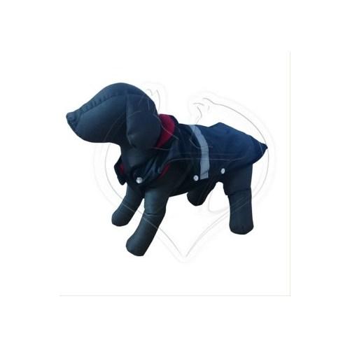 Pet Style Reflektörlü Anorak Siyah Köpek Kıyafeti No:2
