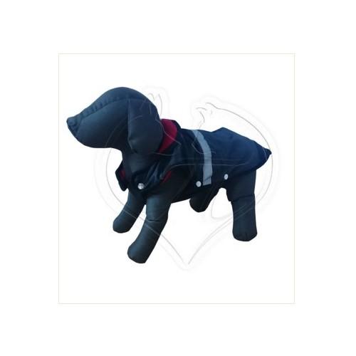 Pet Style Reflektörlü Anorak Siyah Köpek Kıyafeti No:7