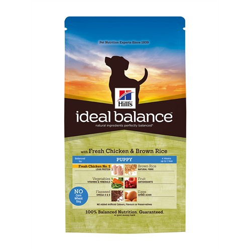 Hill's Ideal Balance Puppy With Fresh Chicken&Brown Rice Taze Tavuk Ve Kepekli Pirinçli Yavru Köpek Maması 2 Kg