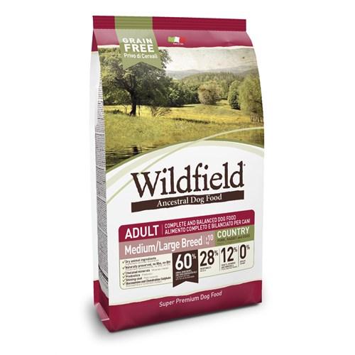 Wildfield Adult Köy Domuz Etli,Tavşanlı Ve Yumurtalı Orta/Büyük Irk Köpek Maması 2 Kg