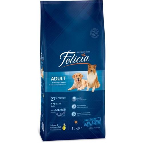 Felicia 15 Kg Somonlu Yetişkin Köpek Maması
