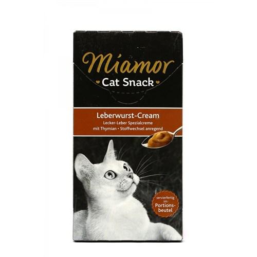 Miamor Cream Ciğerli Kedi Ödülü 6x15 gr