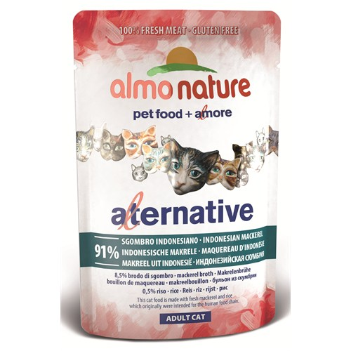 Almo Nature Alternative Cats Orkinos Kedi Konservesi55 G