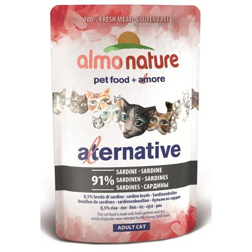 Almo Nature Alternative Cats Sardalya Kedi Konservesi55 G.