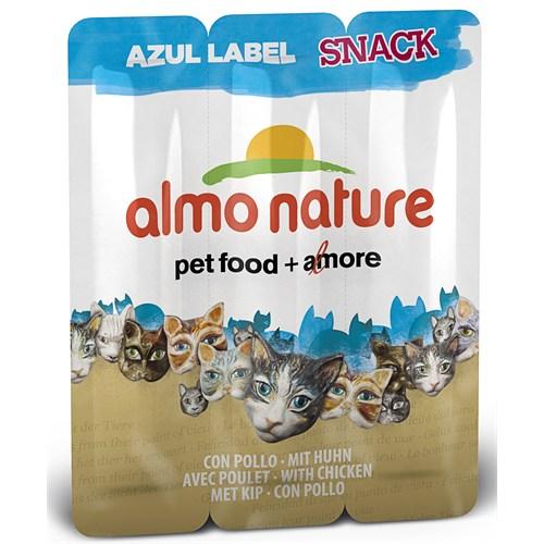 Almo Nature Azul Label Snack Tavuk Kedi Ödülü 15Gr
