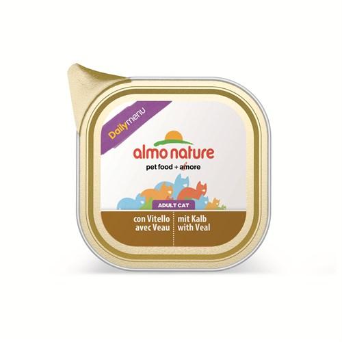 Almo Nature Daily Menu Süt Danalı Kedi Konserve 100 Gr