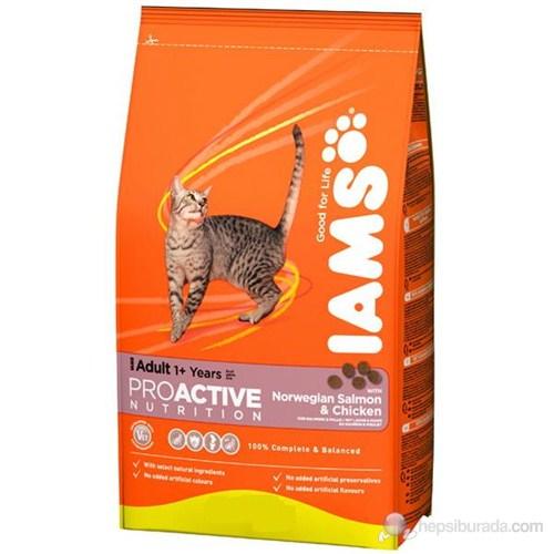 Iams Norveç Somonlu Tavuklu Yetişkin Kedi Maması 3 kg