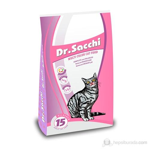 Dr.Sacchi MultiColor Yetişkin Kedi Maması 15 kg