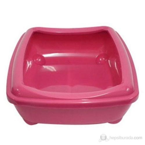 Aristo Tray Açık Kedi tuvaleti Pembe