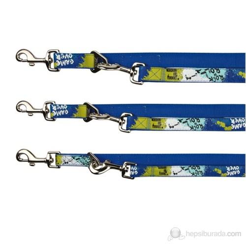 Trixie Mavi Yeşil Köpek Gezdirmesi Kayış L-XL,2m/25mm