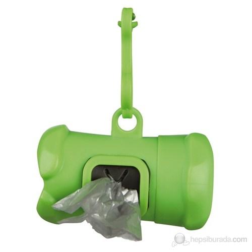 Trixie Köpek Tuvalet Poşeti Kabı Standart Ölçülü Hediyeli Yeşil