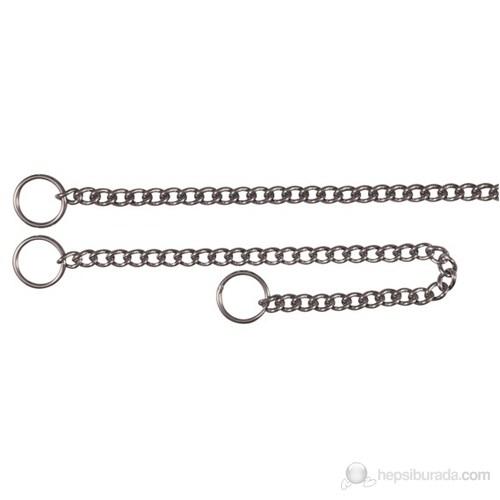 Köpekler İçin Paslanmaz Çelik Zincir Boğma Tasma 60cm/2,5mm