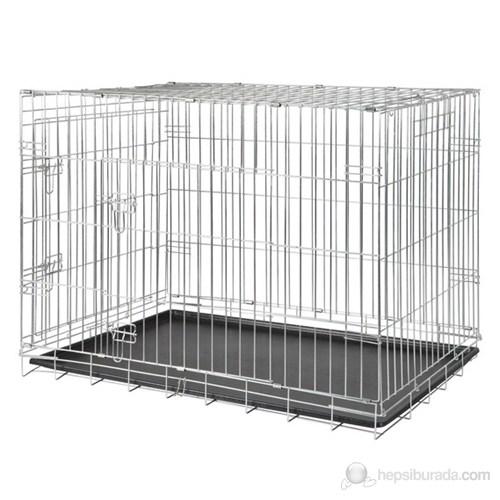 Trixie köpek taşıma galvaniz kafes, 64x54x48cm