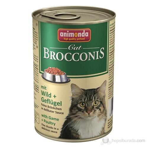 Brocconis Av Hayvanlı Kümes Hayvanlı Kedi Konserve400 Gr