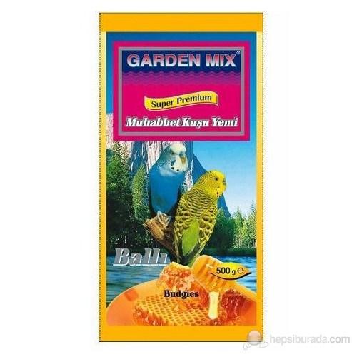 Gardenmix Ballı Muhabbet Kuşu Yemi 500Gr.