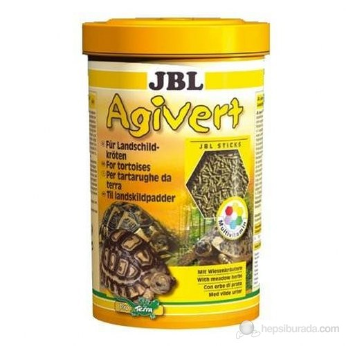 Jbl Agivert Kaplumbağa Yemi 1l-420gr