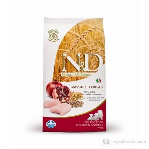 N&D Natural Delicious Düşük Tahıllı Tavuklu Narlı Köpek Maması 12 Kg