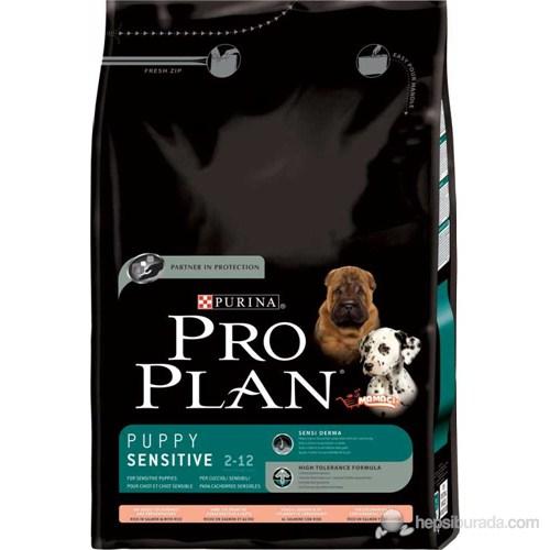 Pro Plan Puppy Somonlu Hassas Yavru Kuru Köpek Maması 3 kg