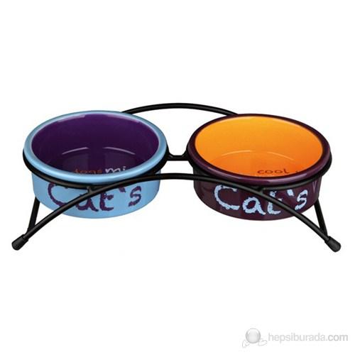 Trixie Kedi Seramik Mama&Su Kabı Seti 2×0.3lt gk