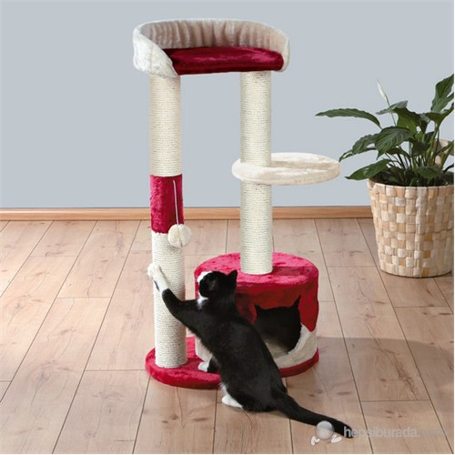 Trixie Kedi Tırmalama Bej & Kırmızı100 Cm