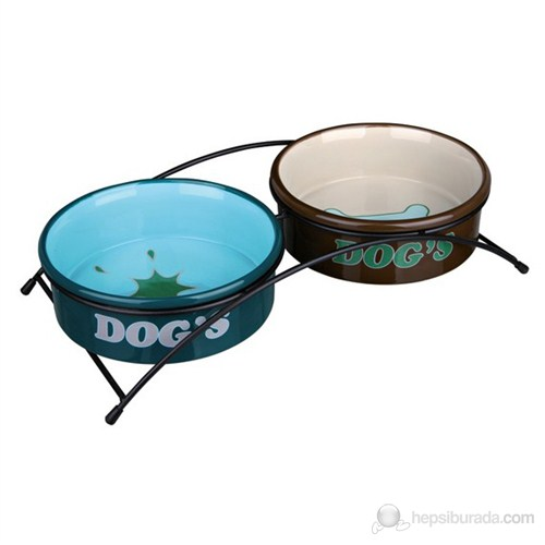 Trixie Köpek Seramik Mama & Su Kabı Seti 2 × 0.3Lt