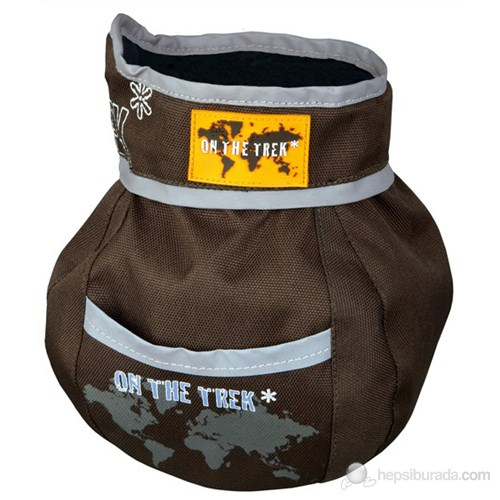 Trixie köpek ödül taşıma çantası ,ø11×16cm, kahverengi