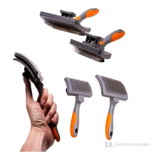 Luxury Paws Otomatik Temizlebilir Fırça Medium 16 cm