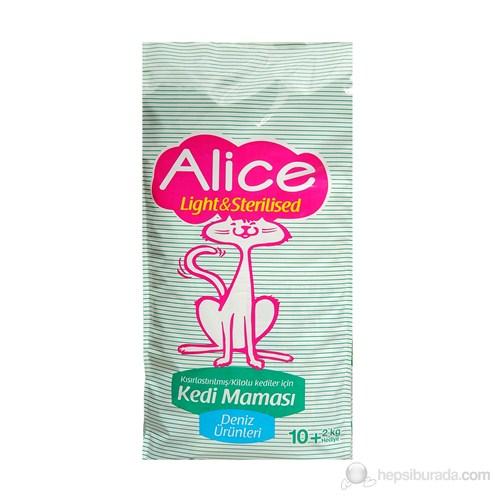 Alice Light & Strerilised Kısırlaştırılmış veya Kilolu Kedi Maması 10+2 Kg