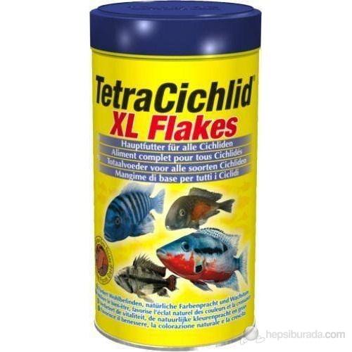 Tetra Cichlid XL Flakes Balık Yemi 500 ML-80 GR.