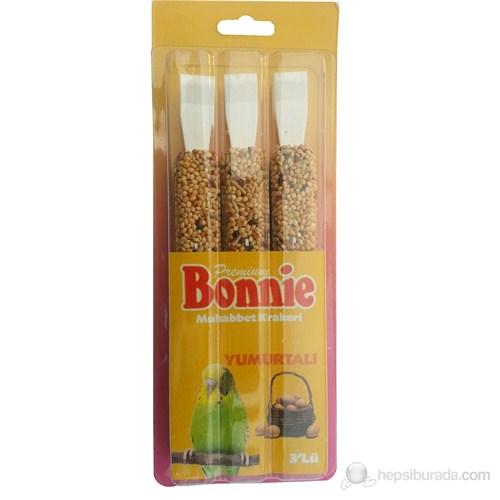 Bonnie Yumurtalı Muhabbet Kuşu Krakeri 3'lü