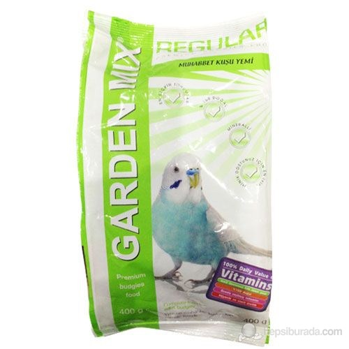 Gardenmix Muhabbet Kuş Yemi Vitaminli 400Gr