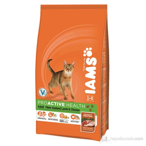 Iams Adult Lamb & Chicken 1,5Kg Kedi Maması
