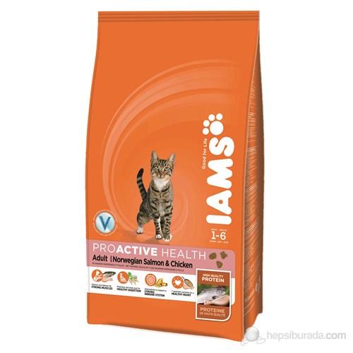 Iams Adult Salmon & Chicken Somonlu 1,5 Kg Kedi Maması