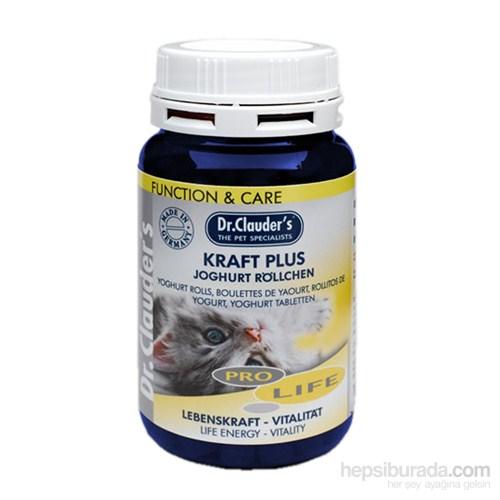 Dr. Clauder'S Kedi Canlılık Verici Yoğurt Tabletleri (Yaşam Desteği) 100 Gr. (Dr-52030)