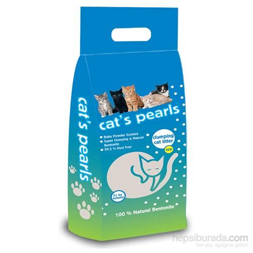 Cat's Pearls Topaklanan Kedi Kumu 5 Lt kk