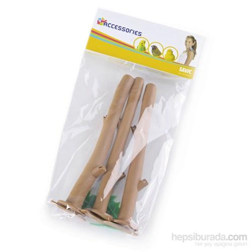 Savic Plastik Tünek 3'lü