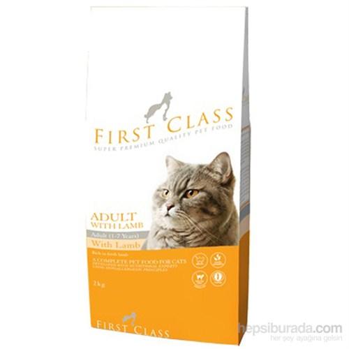 First Class Adult Lamb Rice Kuzulu Kedi Maması 2 Kg