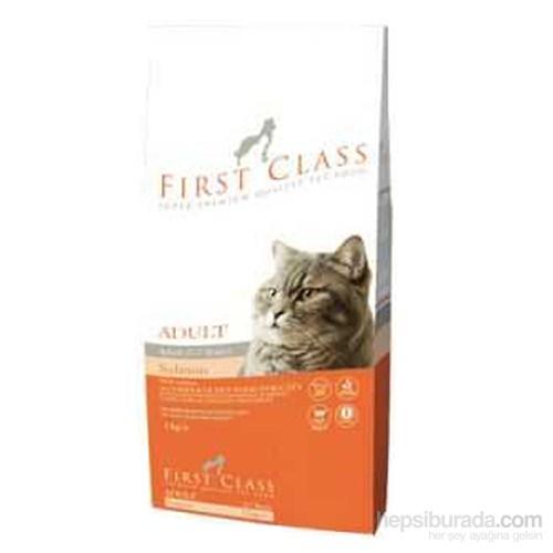 First Class Adult Salmon Kedi Maması 2 Kg kapalı