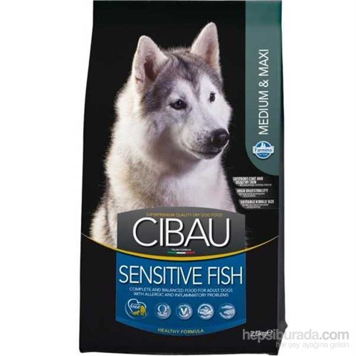 Cibau Balıklı Hassas Köpek Maması 2,5 Kg