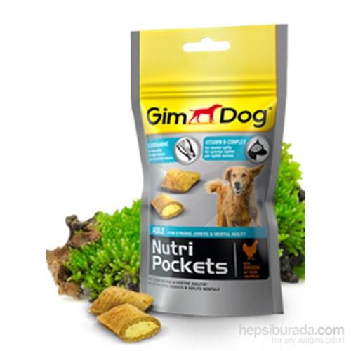 Gimdog Nutripockets Agile Köpek Ödülü 45gr