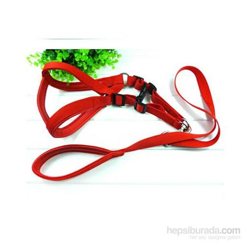 Pet Zoom Köpek Göğüs Tasması 2 - Kırmızı fd