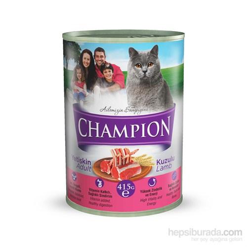 Champion Kuzu Etli Yaş Kedi Maması 415 gr