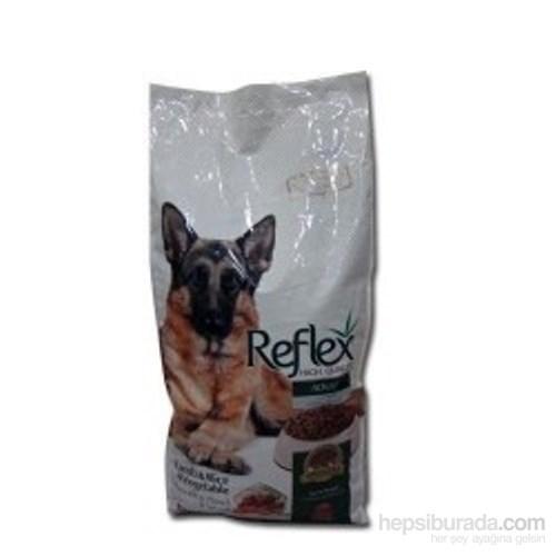 Reflex Kuzulu, Pirinçli ve Sebzeli Yüksek Kaliteli Köpek Maması 15 Kg
