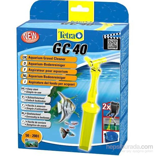 Tetra Gc 40 Gravel Cleaner Dip Sifonu