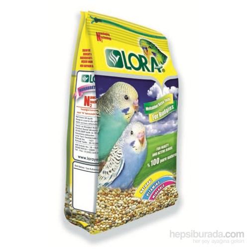Lora Muhabbet Kuşu Kuşu Yemi Sade 400 gr