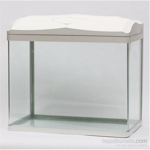 Quık Akvaryum 47Lt Beyaz