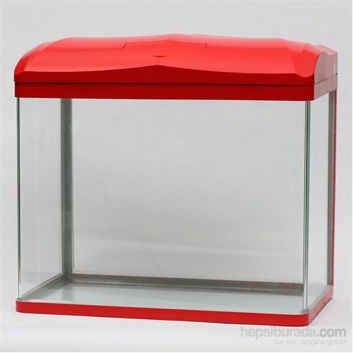 Quık Akvaryum 47Lt Kırmızı