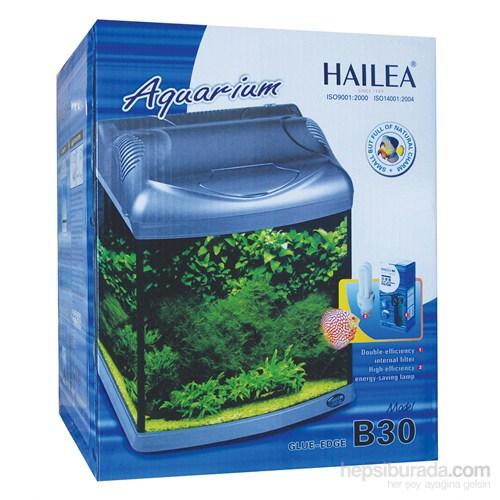Hailea B30 Akrilik Komple Akvaryum 30 Lt Siyah